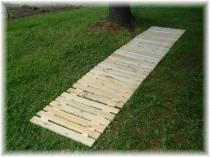 cedar walkway
