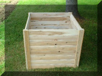 cedar compost box