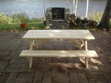 Cedar Picnic Tables